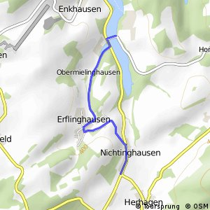 RSW (HSK-26) Eslohe-Nichtinghausen - (HSK-27) Meschede-Hennesee