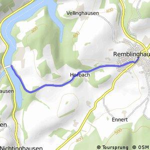 RSW (HSK-24) Meschede-Remblinghausen - (HSK-27) Meschede-Hennesee