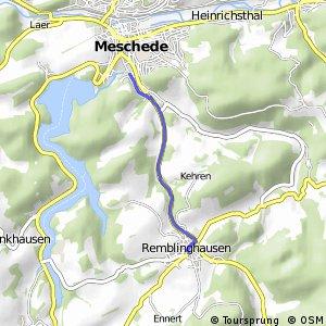 RSW (HSK-23) Meschede - (HSK-24) Meschede-Remblinghausen