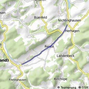 RSW (HSK-26) Eslohe-Nichtinghausen - (HSK-45) Eslohe-Bremke