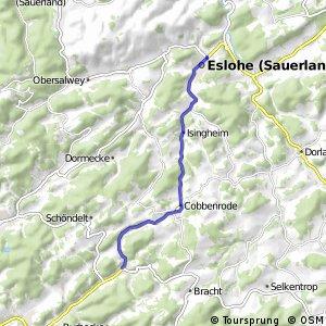 RSW (OE-40) Lennestadt-Oedingen - (HSK-43) Eslohe