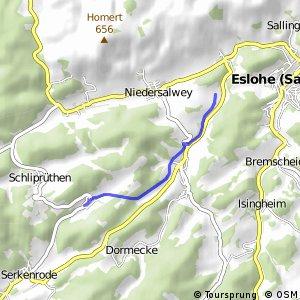 RSW (HSK-42) Eslohe-In der Marpe - (OE-55) Finnentrop-Fehrenbracht