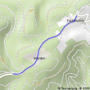 RSW (OE-52) Finnentrop-Glingestraße - (OE-53) Finnentrop-Faulebutter