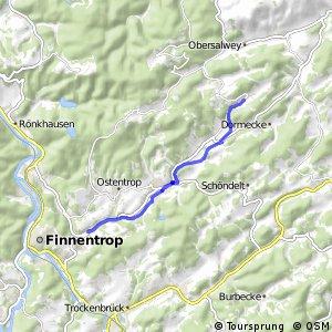 RSW (OE-49) Finnentrop-Frettermühle - (OE-55) Finnentrop-Fehrenbracht
