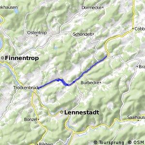 RSW (OE-40) Lennestadt-Oedingen - (OE-41) Lennestadt-Trockenbrück