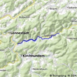 RSW (OE-37) Lennestadt-Altenhundem - (OE-39) Lennestadt–Störmecke