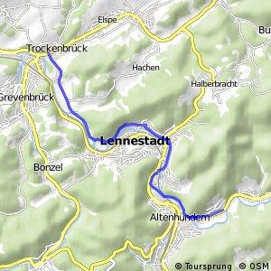 RSW (OE-37) Lennestadt-Altenhundem - (OE-41) Lennestadt-Trockenbrück