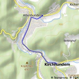 RSW (OE-35) Kirchhundem - (OE-37) Lennestadt-Altenhundem