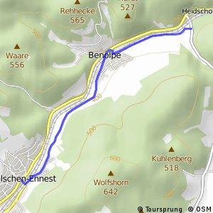 RSW (OE-29) Kirchhundem-Welschen Ennest - (OE-36) Kirchhundem-Abzweig Welschen Ennest
