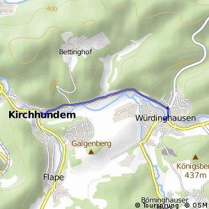 RSW (OE-34) Kirchhundem-Würdinghausen - (OE-35) Kirchhundem