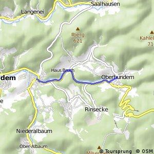 RSW (OE-33) Kirchhundem-Oberhundem - (OE-34) Kirchhundem-Würdinghausen