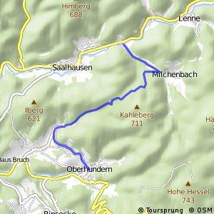RSW (OE-33) Kirchhundem-Oberhundem - (OE-39) Lennestadt–Störmecke