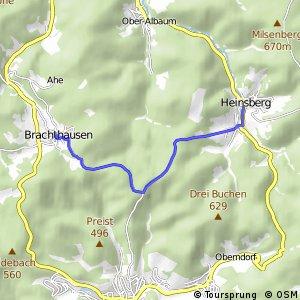 RSW (OE-30) Kirchhundem-Brachthausen - (OE-31) Kirchhundem-Heinsberg