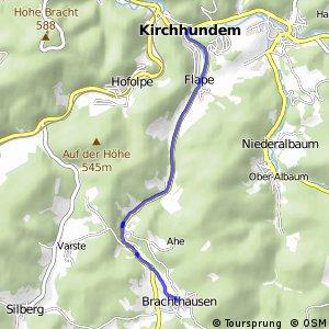 RSW (OE-30) Kirchhundem-Brachthausen - (OE-35) Kirchhundem