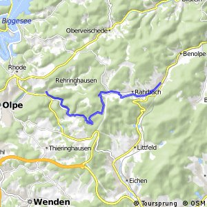 RSW (OE-28) Olpe-Stachelau - (OE-29) Kirchhundem-Welschen Ennest