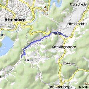 RSW (OE-26) Attendorn-Berlinghausen - (OE-43) Attendorn-Helden