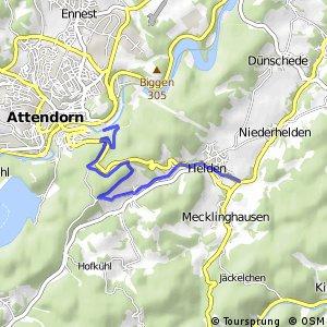 RSW (OE-43) Attendorn-Helden - (OE-45) Attendorn-Schnellenberg