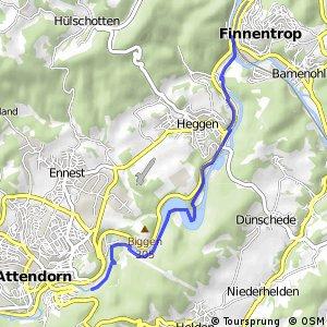 RSW (OE-45) Attendorn-Schnellenberg - (OE-48) Finnentrop-Biggemündung