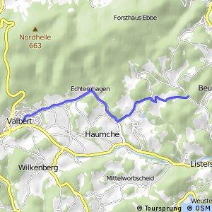 RSW (MK-24) Meinerzhagen–Valbert - (MK-39) Meinerzhagen–Valbert