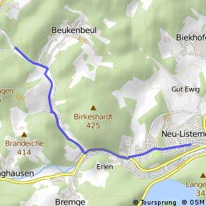 RSW (OE-23) Attendorn-Ewig - (MK-24) Meinerzhagen–Valbert