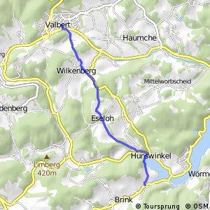 RSW (OE-18) Drolshagen-Herpel - (MK-39) Meinerzhagen–Valbert