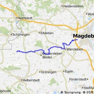 Telegraphenradweg Bördekreis