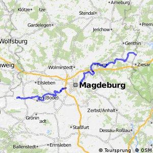 Telegraphenradweg Berlin - Koblenz