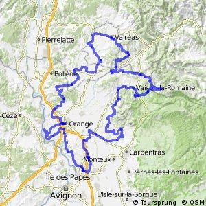 Tour des Côtes du Rhône