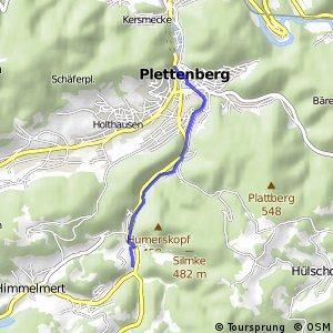 RSW (MK-41) Plettenberg-Oestertal - (MK-43) Plettenberg