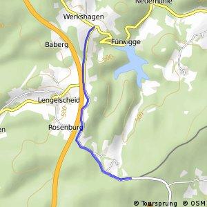 RSW (MK-16) Meinerzhagen-Werkshagen - (MK-19) Meinerzhagen