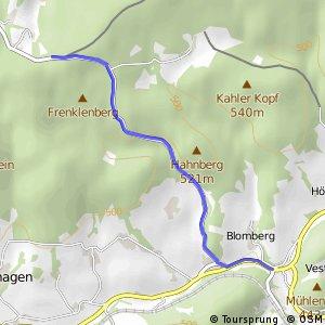 RSW (MK-19) Meinerzhagen - (MK-37) Meinerzhagen–Valbert
