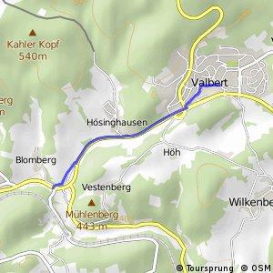 RSW (MK-37) Meinerzhagen–Valbert - (MK-39) Meinerzhagen–Valbert