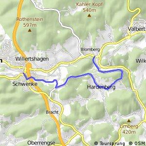RSW (MK-35) Meinerzhagen - (MK-37) Meinerzhagen–Valbert