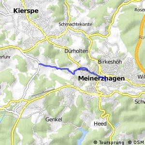 RSW (MK-28) Kierspe-Höhlen - (MK-31) Meinerzhagen