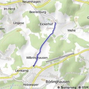 RSW (GM-27) Marienheide - (MK-28) Kierspe-Höhlen