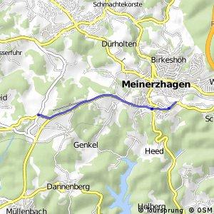 RSW (GM-27) Marienheide - (MK-33) Meinerzhagen