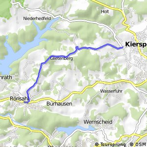 RSW (MK-20) Kierspe-Rönsahl - (MK-23) Kiersper Bruch