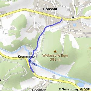 RSW (MK-20) Kierspe-Rönsahl - (GM-90) Marienheide-Krommenohl