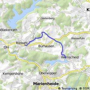 RSW (MK-20) Kierspe-Rönsahl - (GM-xx) Marienheide-Wernscheid