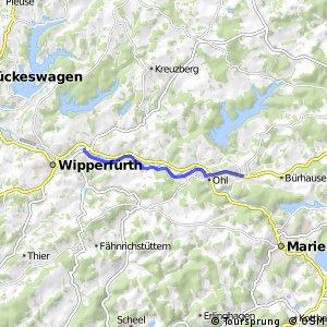 RSW (MK-20) Kierspe-Rönsahl - (GM-79) Wipperfürth