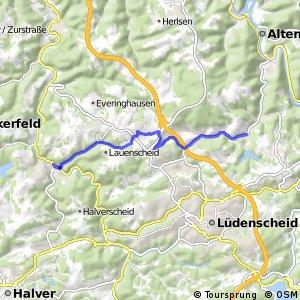 RSW (MK-04) Schalksmühle - (MK-05) Altena-Rahmede