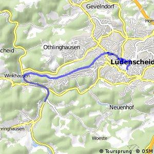 RSW (MK-02) Lüdenscheid-Ahelle - (MK-06) Lüdenscheid-Staberg