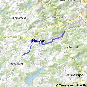 RSW (MK-01) Halver-Anschlag - (MK-02) Lüdenscheid-Ahelle