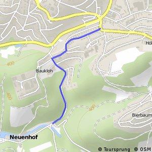 RSW (MK-07) Lüdenscheid-Bräucken - (MK-08) Lüdenscheid-Neuenhof