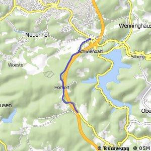 RSW (MK-09) Lüdenscheid-Piepersloh - (MK-15) Lüdenscheid-Hottebruch