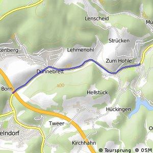 RSW (MK-05) Altena-Rahmede - (MK-xx) Lüdenscheid-Oberrahmede