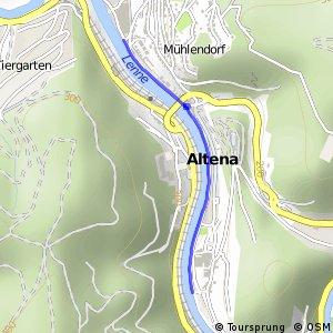 RSW (MK-57) Altena - (MK-58) Altena-Mühlendorf