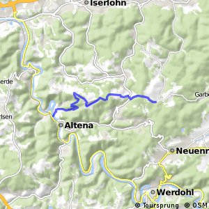 RSW (MK-58) Altena-Mühlendorf - (MK-61) Altena-Dahle