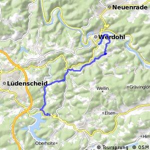 RSW (MK-11) Lüdenscheid-Silberg - (MK-64) Werdohl