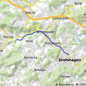 RSW (OE-02) Drolshagen - (GM-36) Bergneustadt-Pernze